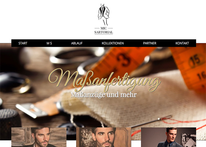 Corporate Webdesign für Michael Schlünkes
